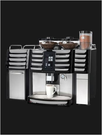 Schaerer Art Plus koffiemachine bonen gebruikt gereviseerd