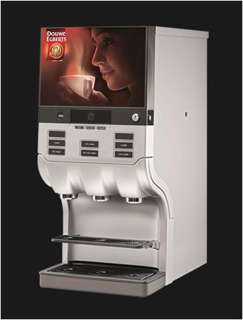 Douwe Egberts Cafitesse NG 300 liquid koffiemachine gebruikt