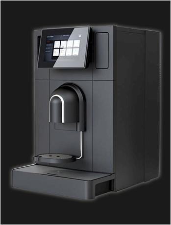 Schaerer Coffee Prime koffiemachine bonen gebruikt gereviseerd