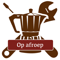 Service en onderhoud gebruikte koffiemachine