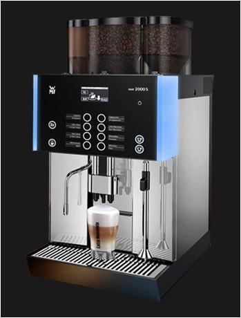 WMF 2000s koffiemachine bonen gebruikt gereviseerd