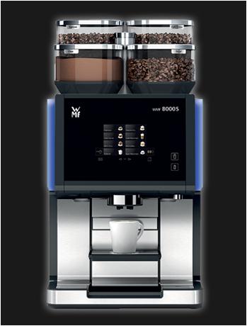 WMF 8000s koffiemachine bonen gebruikt gereviseerd